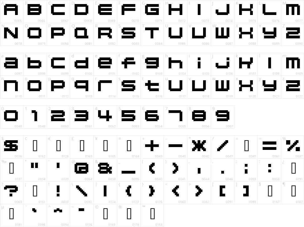 04b_20 Character Map