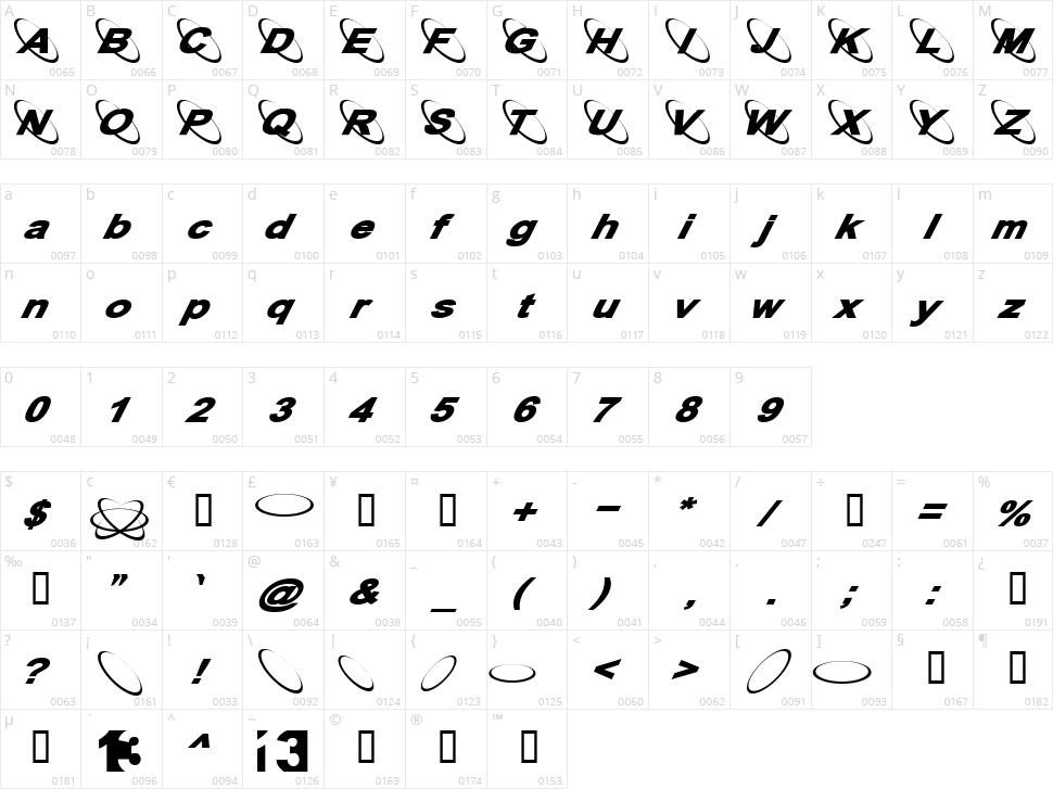 13 Misa Character Map