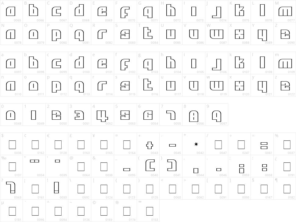 Alpha Flight Character Map