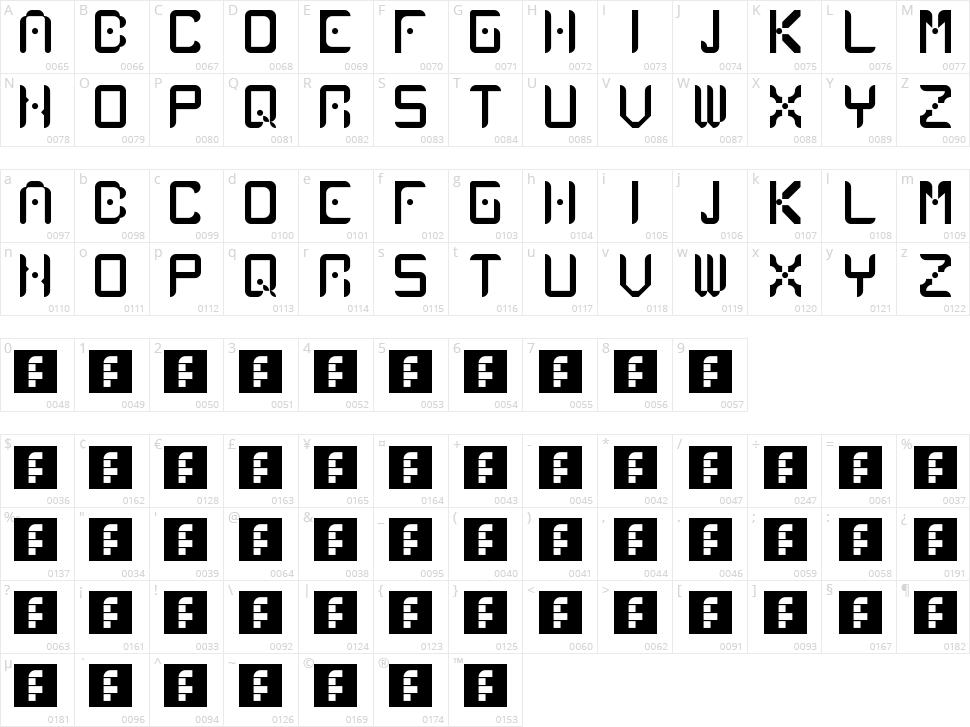 Atlancia Character Map