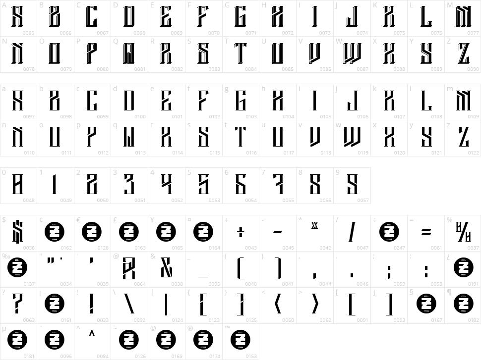 Barbarossa Character Map