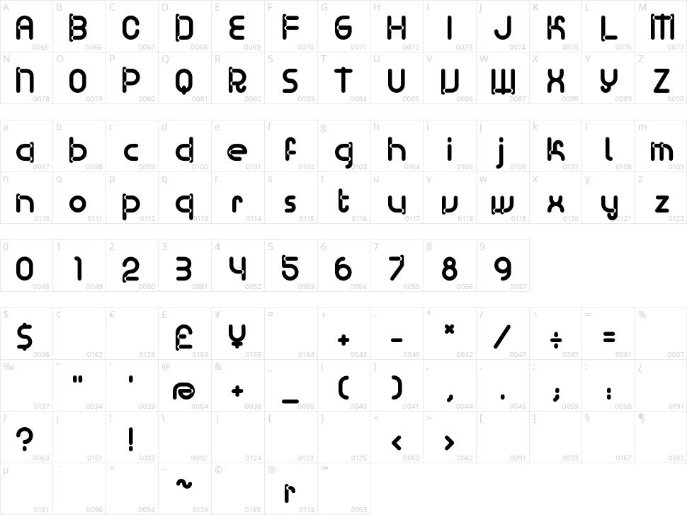 BD Ramen Character Map