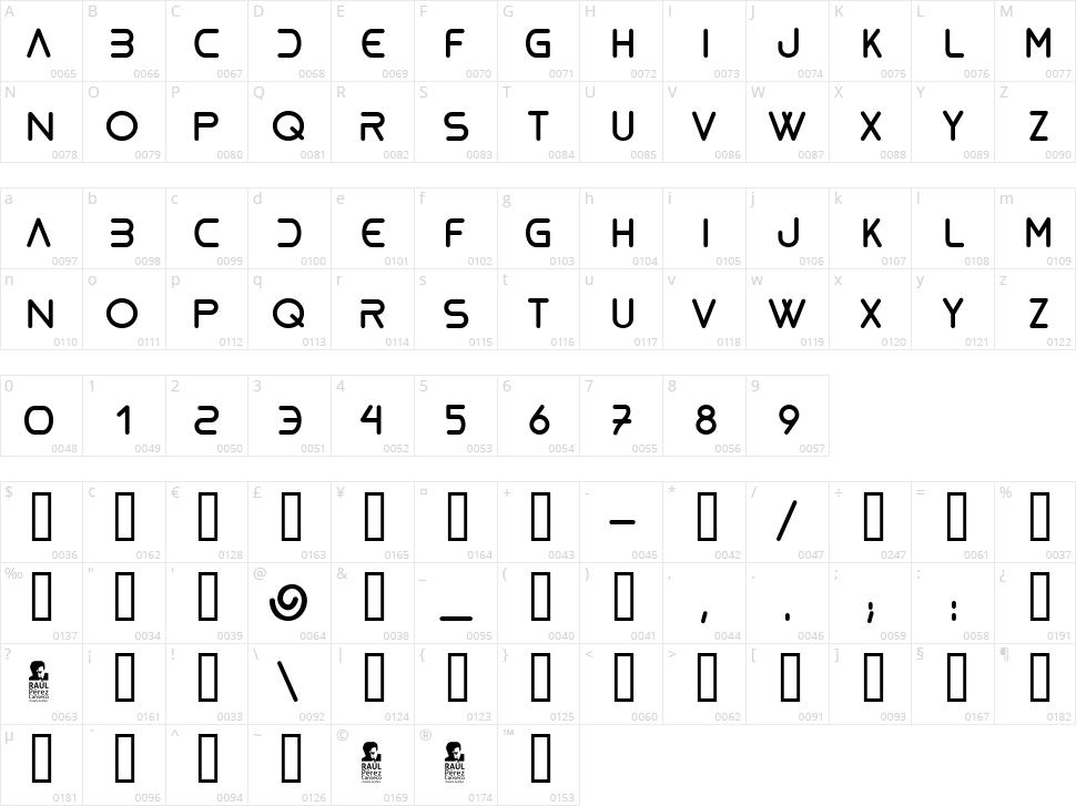 Bioliquid Character Map