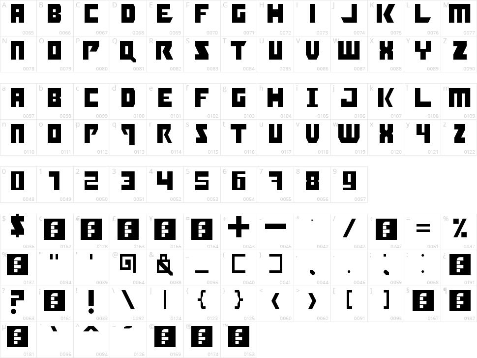 Booyakasha Character Map