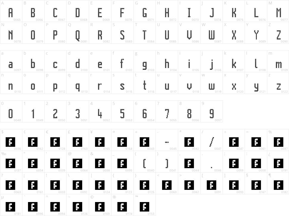 Citaro Voor (dubbele hoogte, midden/dubbel) Character Map