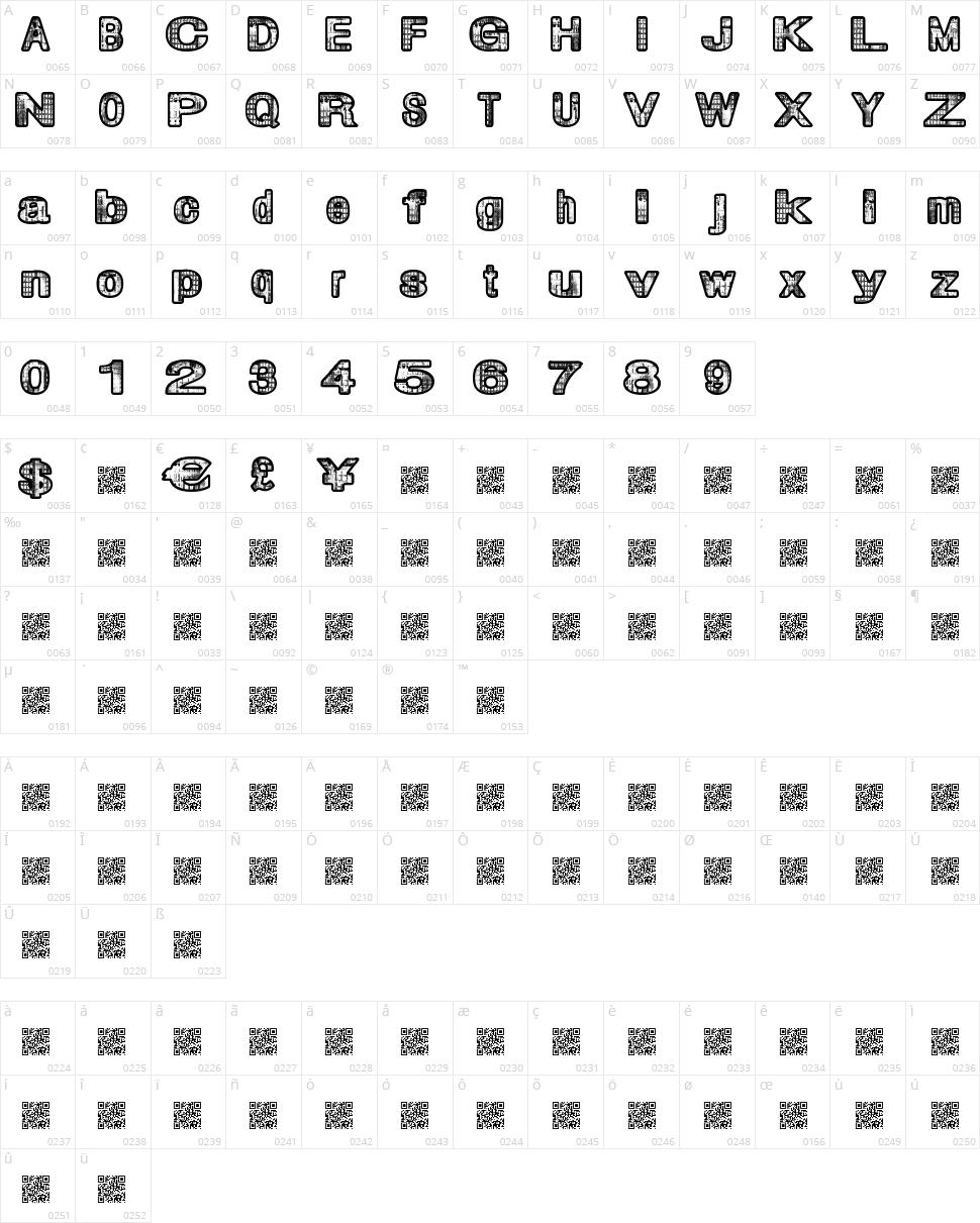 City Magic Character Map