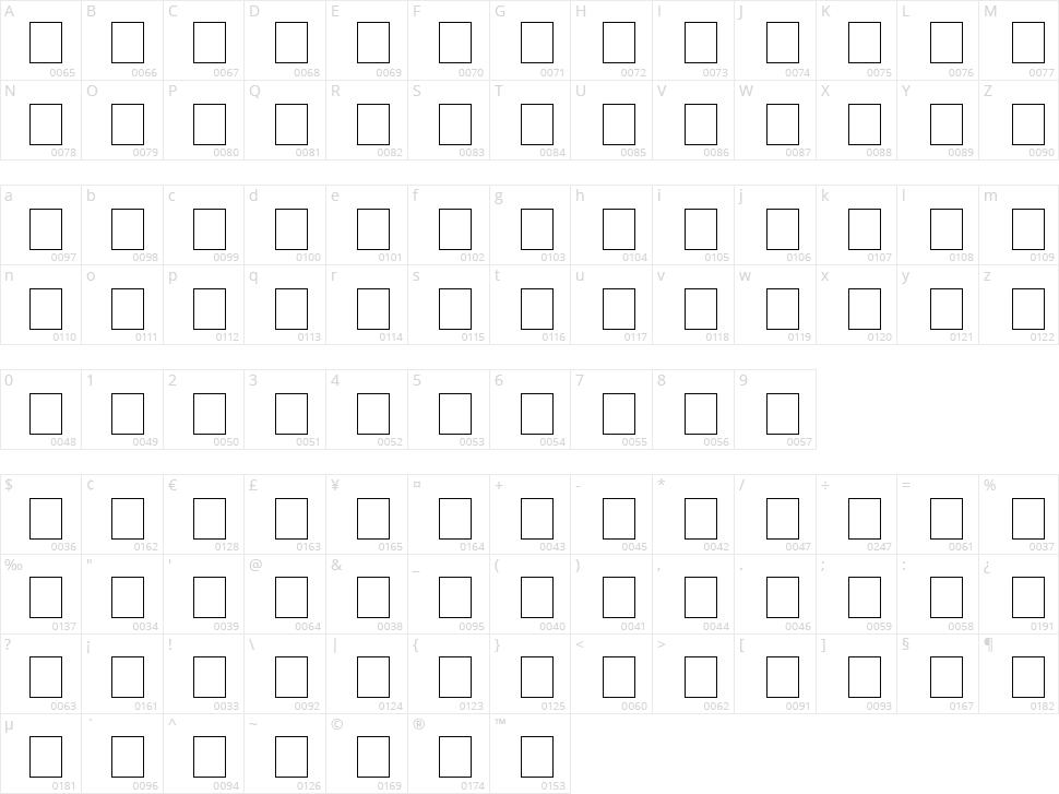 Code 39 Logitogo Character Map