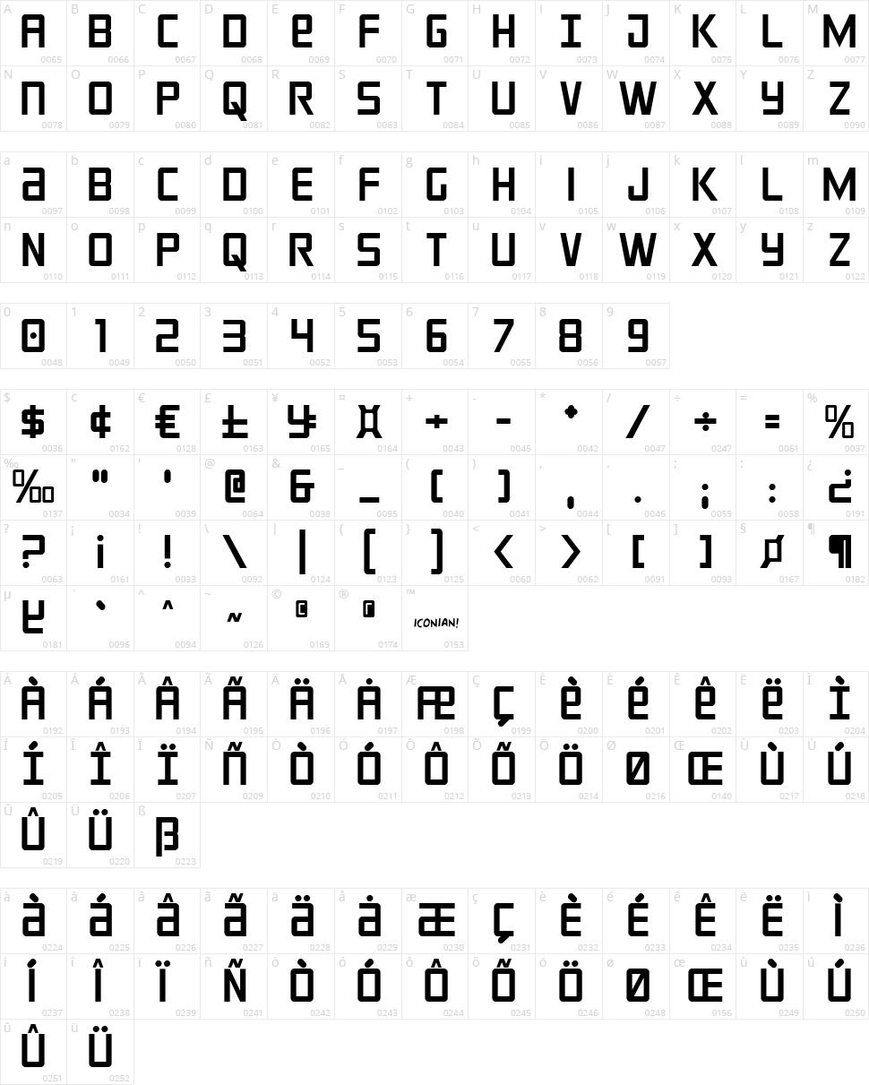 Crixus  Character Map