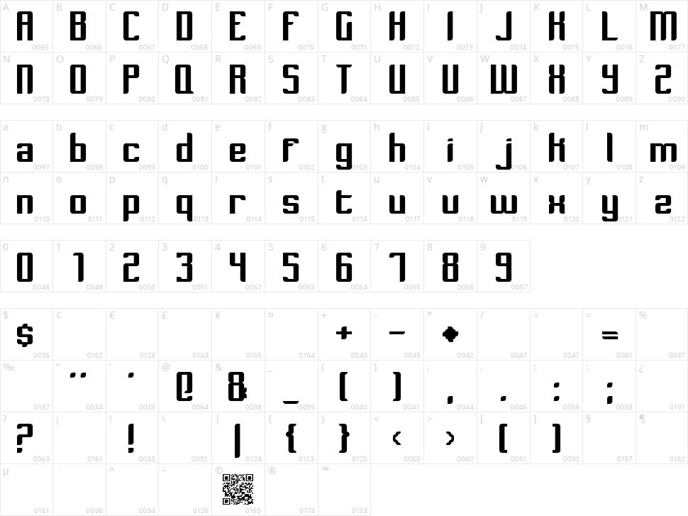 Dymeda Character Map