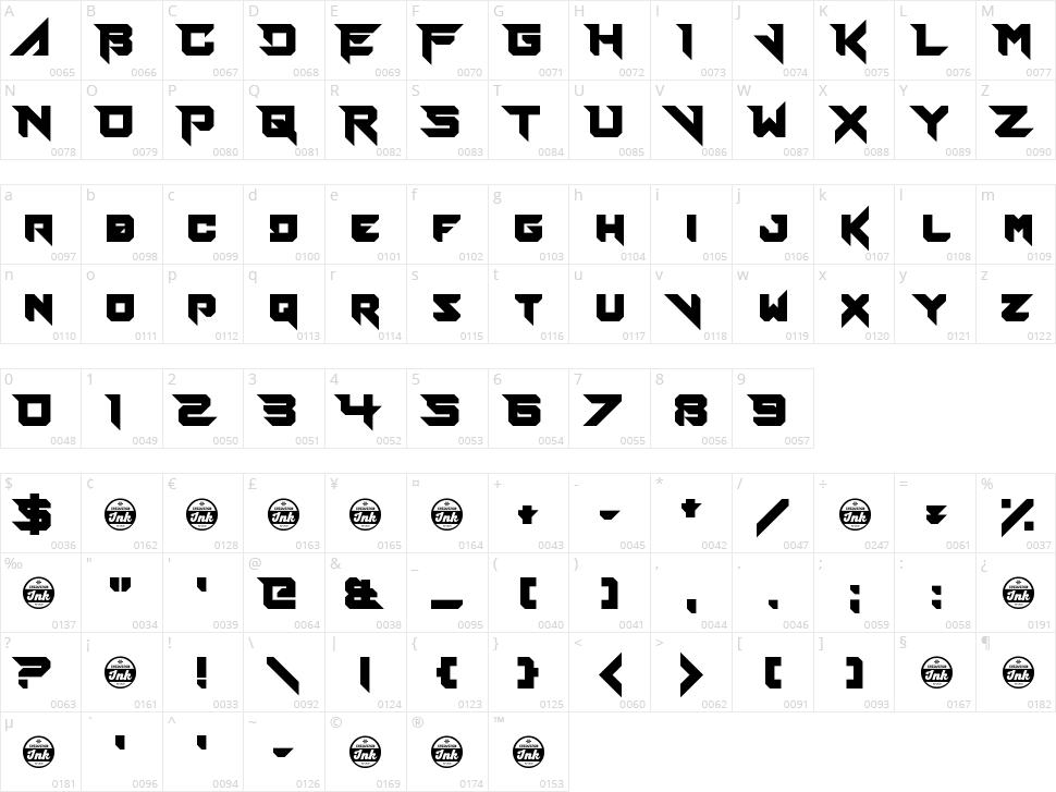 Fierce Brosnan Character Map