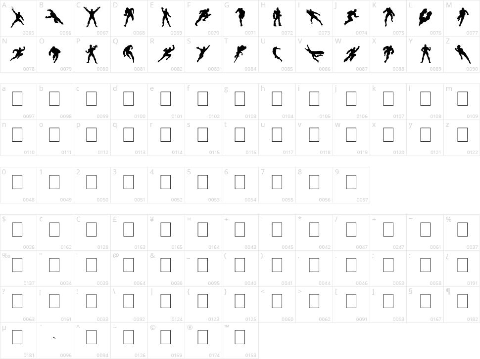 HeRoez Character Map
