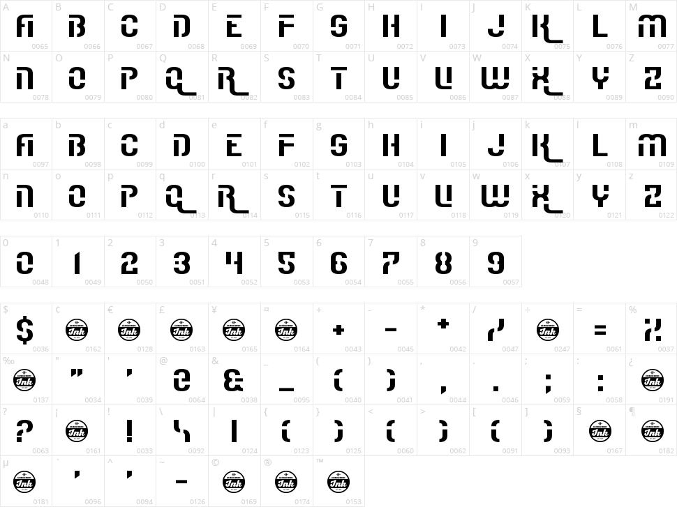 I Really Really Really Really Really Really Like Fonts Character Map