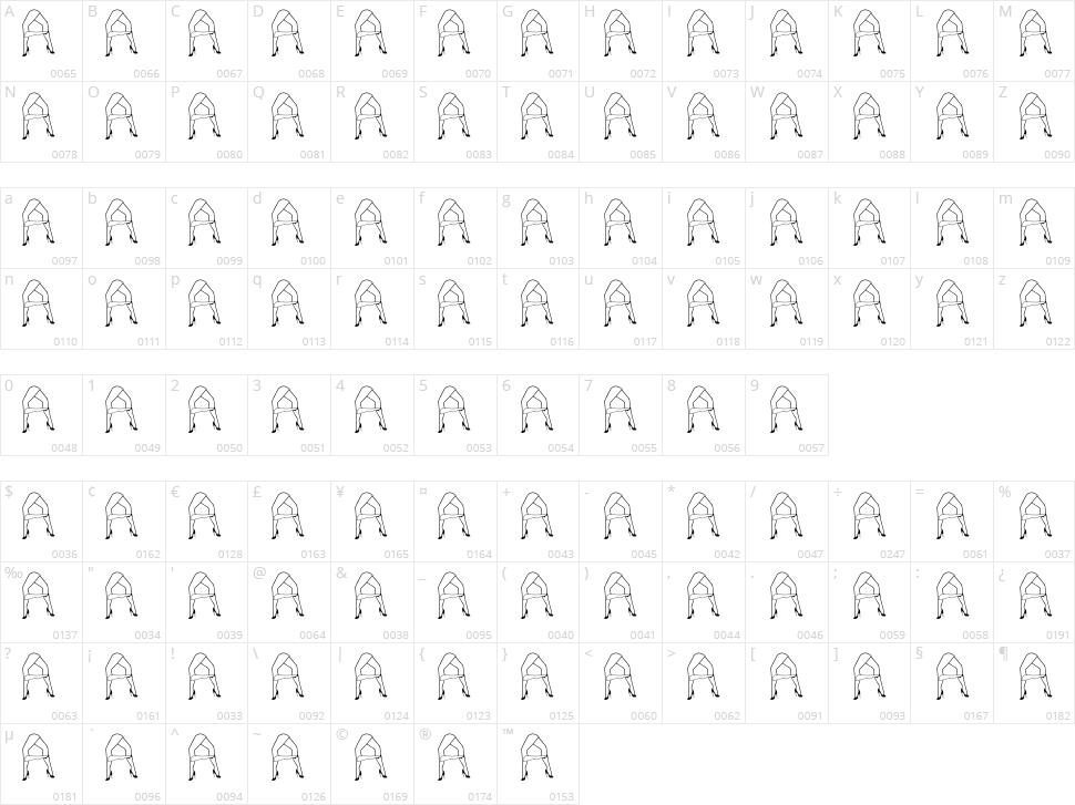 Juanjos Hot Legs Character Map