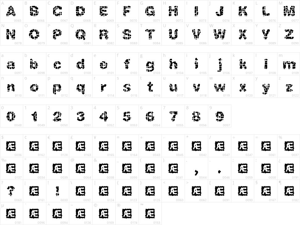Katalyst Character Map