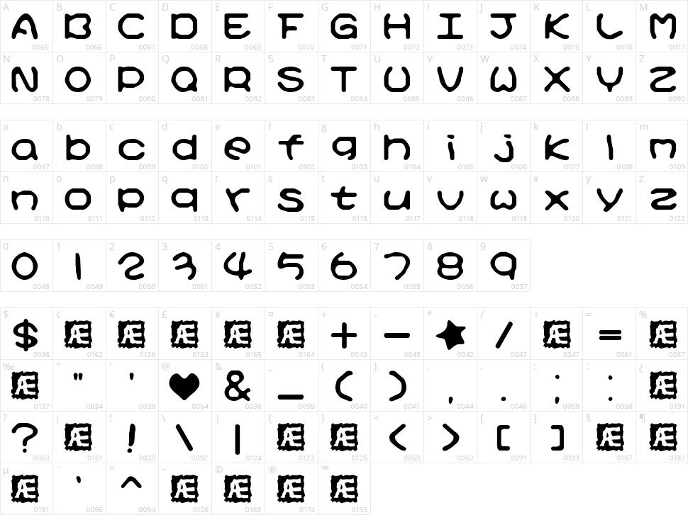 Kirby No Kira Kizzu Character Map