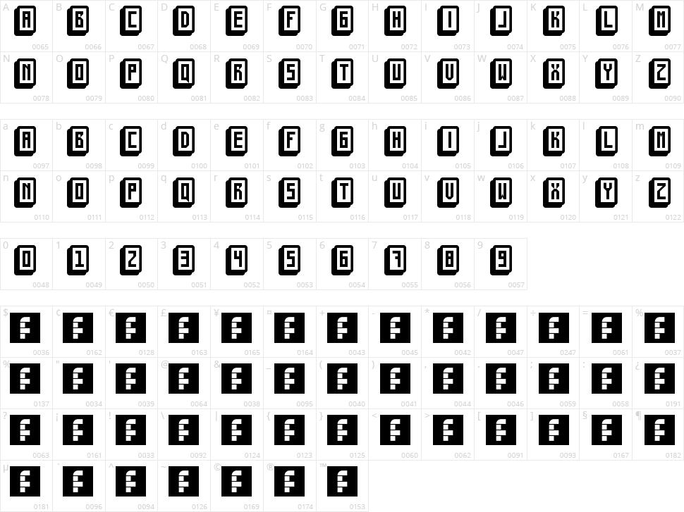Mahjong Toy Block Character Map