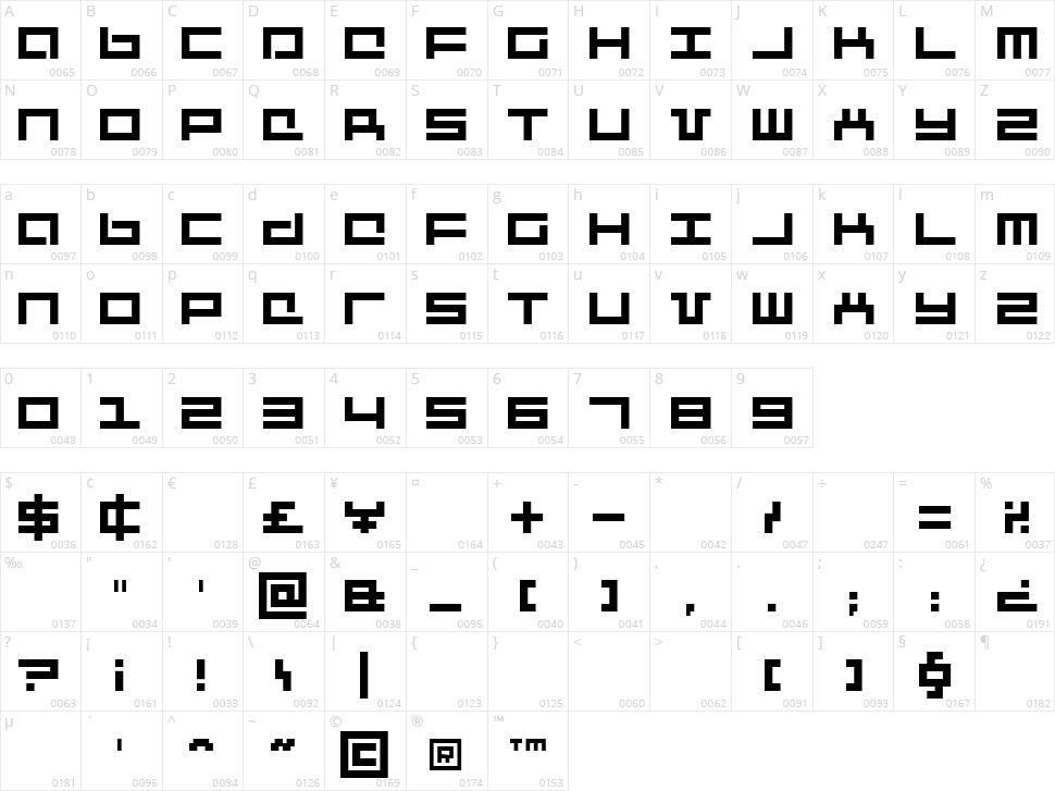 Mecha + Mechanic Character Map