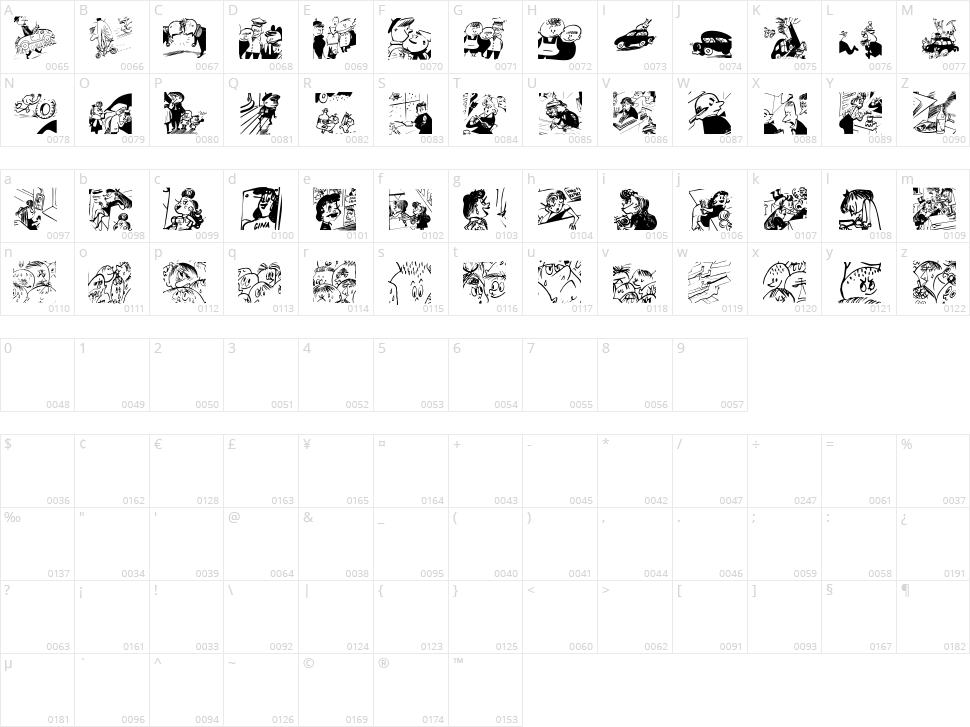 Menschenskinder Character Map