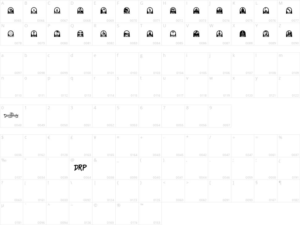 Nato Phonetic Alphabet Character Map