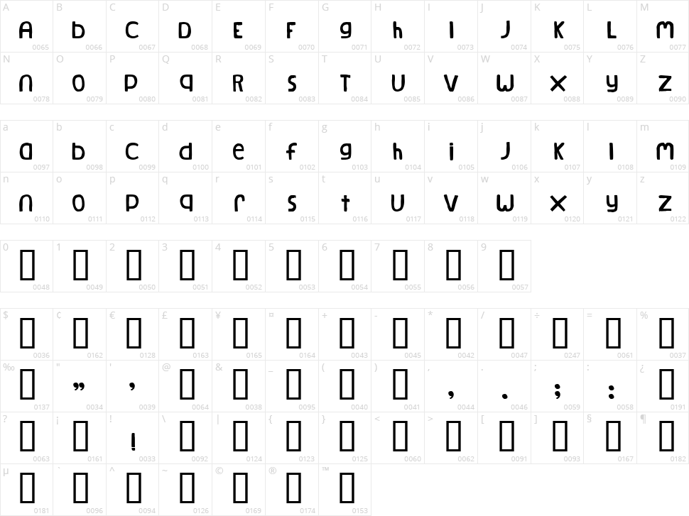 Natural log font · 1001 fonts.