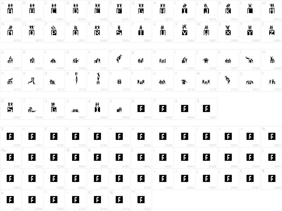 Neden Olmasn Character Map