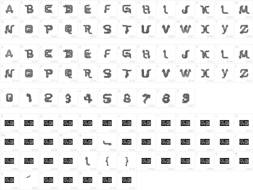 Park Tech CG Character Map