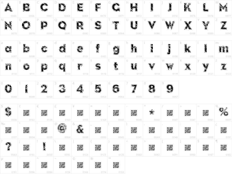 Slate Character Map
