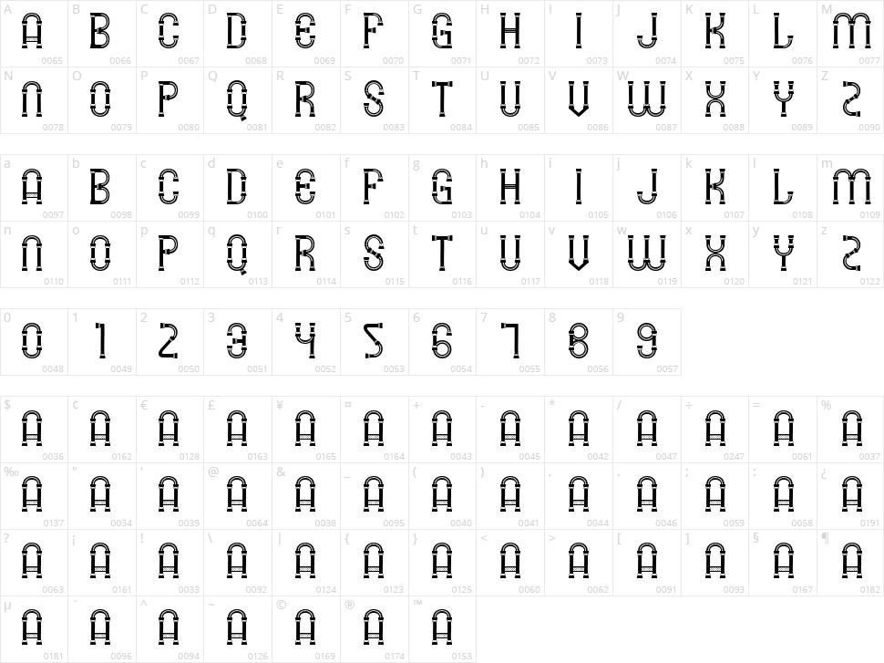 SMG Lawang Sewu Character Map