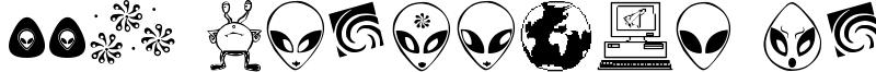 001 Starship Gamma Font