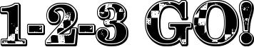 1-2-3 GO! Font