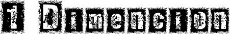1 Dimencion Font