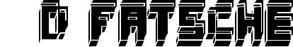 3d Fatsche Font