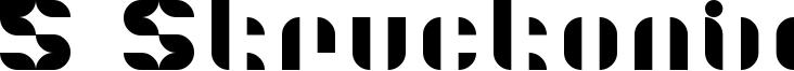 5 Structonix Font
