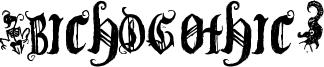 (BichOGothic) Font