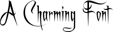 A Charming Font Font