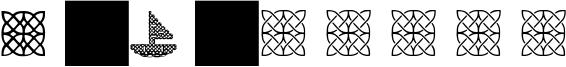 A-J Knots Font