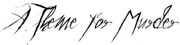 A Theme for Murder Font