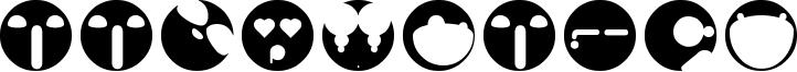 Aaronfaces Font