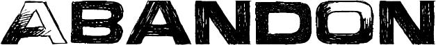 Abandon Font