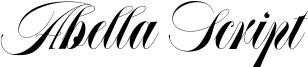 Abella Script Font