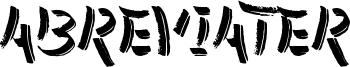 Abreviater Font