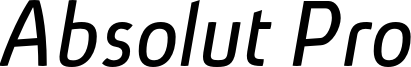 Absolut_Pro_Italic_reduced.otf