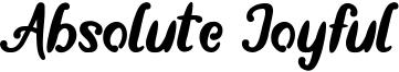 Absolute Joyful Font