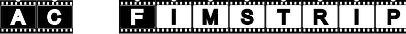 AC Fimstrip Font