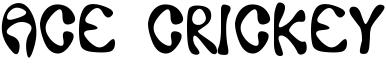 Ace Crickey Font