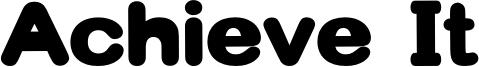 Achieve It Font