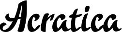 Acratica Font