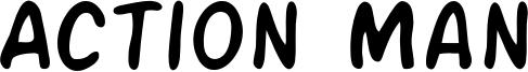 Action Man Font