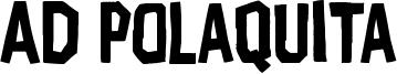 AD Polaquita Font