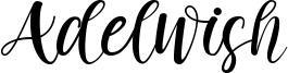 Adelwish Font